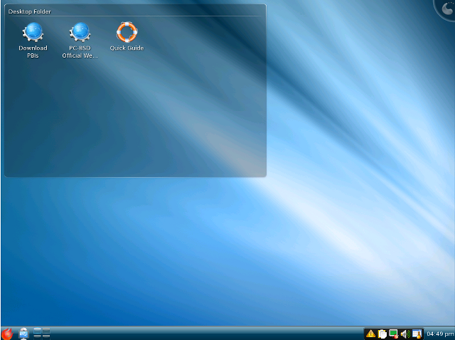 PC BSD Desktop